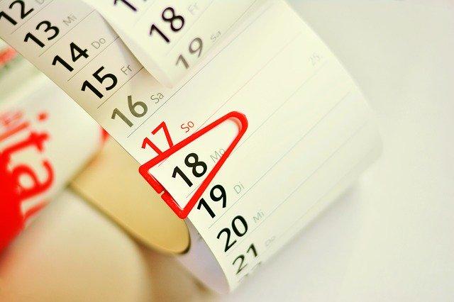 Eventkalender 2020